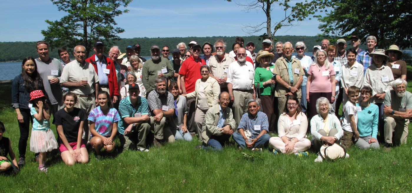 Group of alumni at Taughannock Park